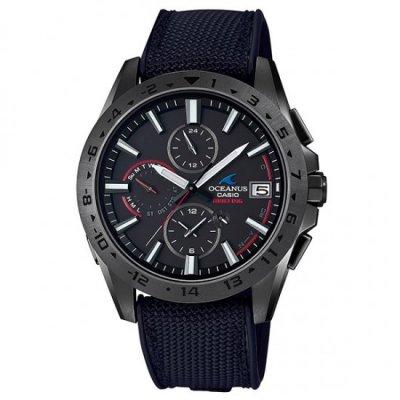 OCEANUS×BRIEFINGコラボモデル OCW-T3000BRE-1AJR Bluetooth搭載電波ソーラー カシオ オシアナス メンズ腕時計 国内正規品