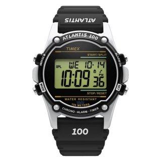 TIMEX タイメックス アトランティス100 ブラック TW2U31000 メンズ腕時計 国内正規品