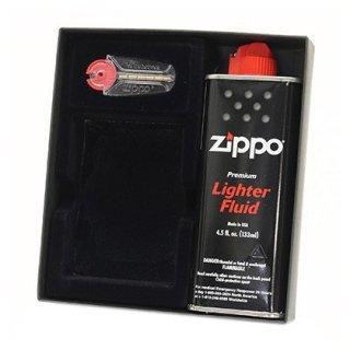 ZIPPO ジッポ 専用ギフトボックス(アラベスク柄) オイル&フリントセット