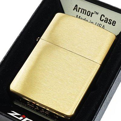 Zippo ジッポ アーマーケース #168 ブラスサテーナ ARMOR オイルライター