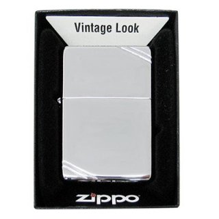 Zippo ジッポ フラットトップ ヴィンテージ #260 クロームポリッシュ