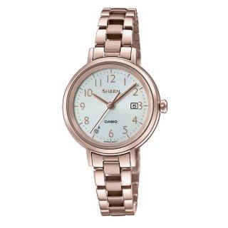 カシオ SHEEN SHS-D100CG-7AJF ソーラー時計 シーン レディース腕時計 国内正規品