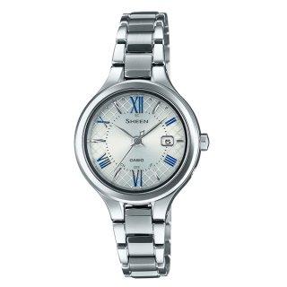 カシオ SHEEN SHW-7000TD-7AJF ソーラー電波時計 チタン シーン レディース腕時計 国内正規品