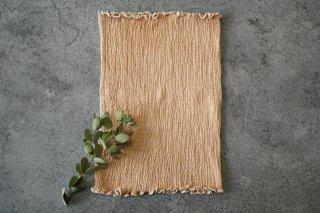 草木染め「ぽかぽか」絹の腹巻