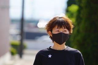 草木染め抗ウイルス布マスク 【頭痛・ストレス用】(内側:ガーゼ)