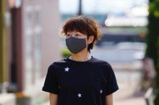 草木染め抗ウイルス布マスク 【ベーシックタイプ】(内側:和紙ガーゼ)