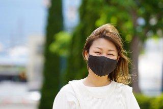 草木染め抗ウイルス布マスク 【花粉タイプ】(内側:ガーゼ)