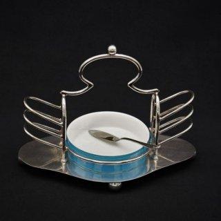 アールデコ 天使みたいな形のトーストラック+バターナイフ