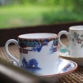 ロイヤルアルバート|ウィローパターンのコーヒーカップ/デミタスカップ