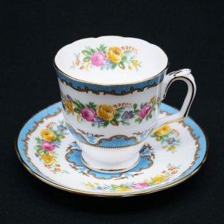 薔薇のコーヒーカップ&ソーサー