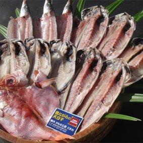 【送料無料】干物の定番ギフト!A お歳暮のご注文1番 干物の定番をギフトにしました 金目鯛も入っています(4種類・12枚) 3600円 ※北海道/沖縄は販売出来ません。