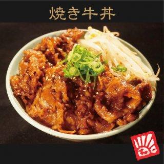 焼き牛丼の具(2食)+牛上ホルモン丼の具(2食)+若鶏の照り焼き丼の具(2食)セット【真空冷凍パック】