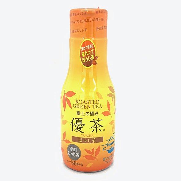 【富士の極み優茶 ほうじ茶】 液体濃縮ほうじ茶 静岡県富士市産茶葉使用