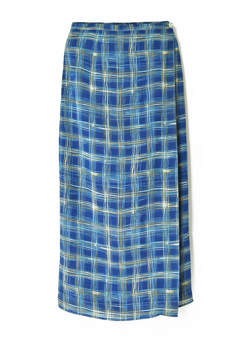 USED Patterned Design Print Skirt
