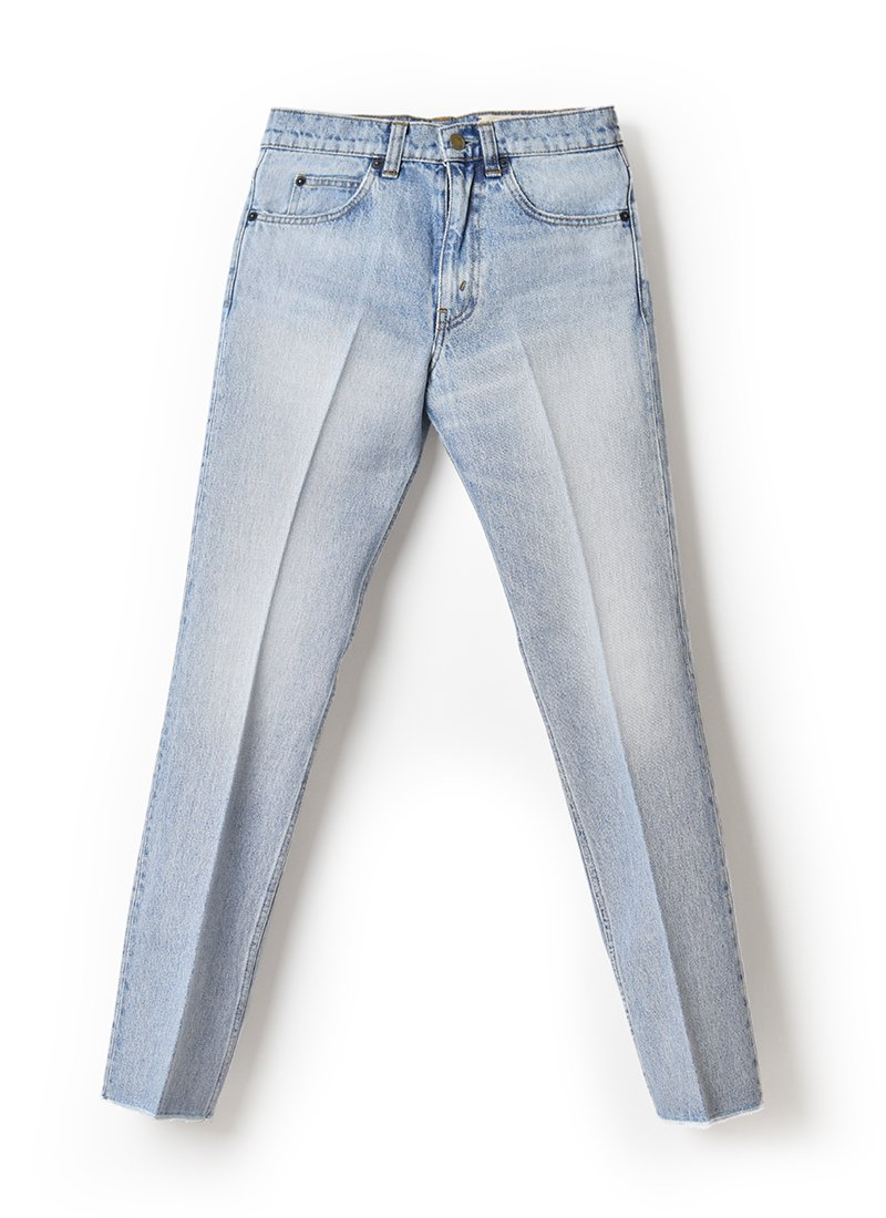 MEYAME Center Pless Flare Jeans