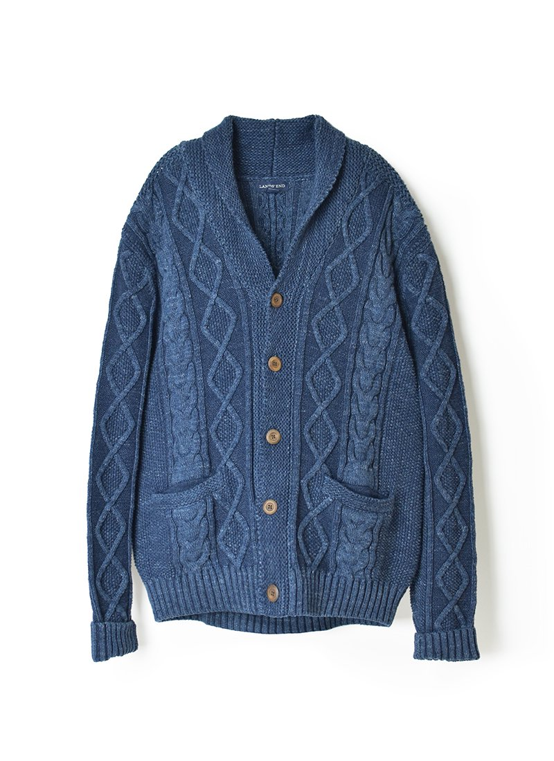 USED LANDS' END Knit Cardigan