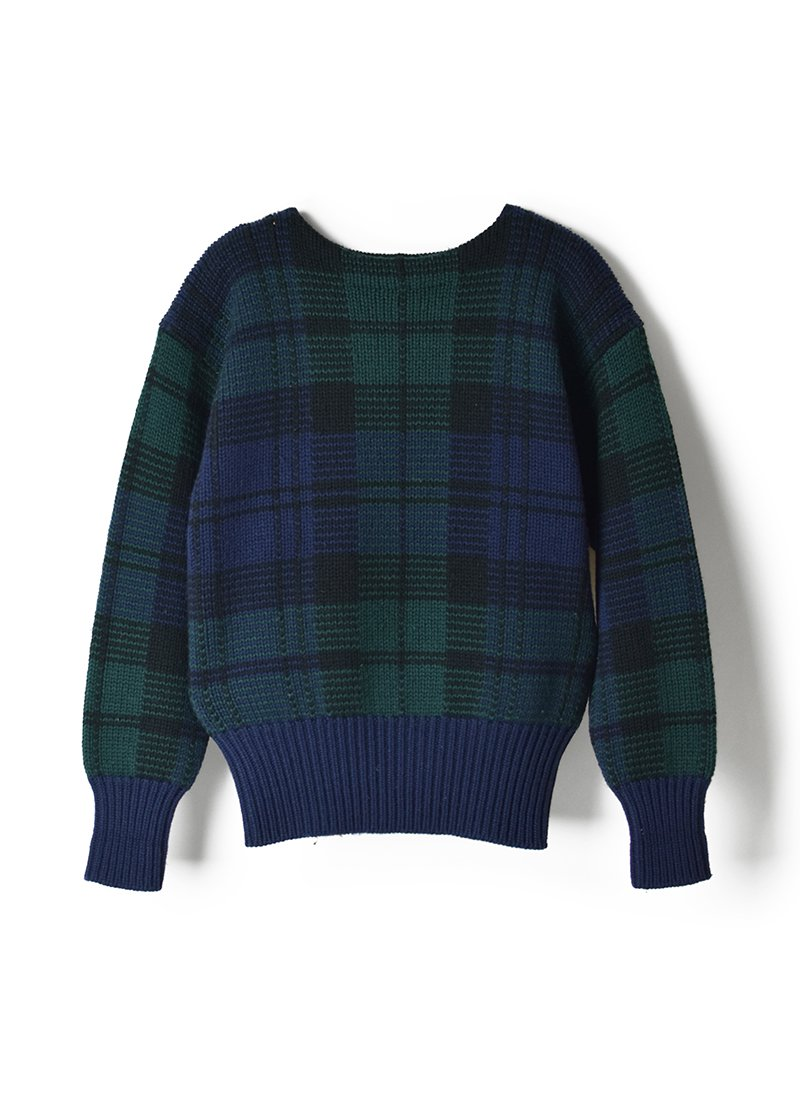 USED RALPH LAUREN Wool Check Sweater