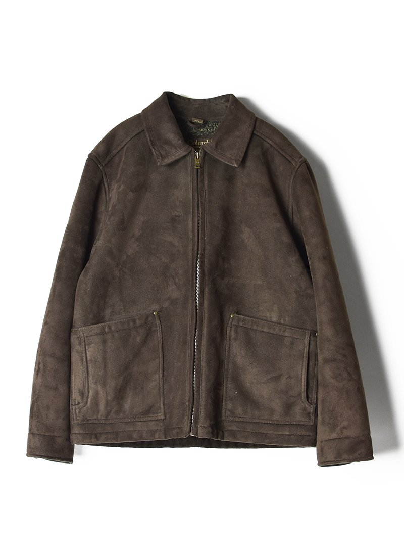 USED Columbia Suede Jacket