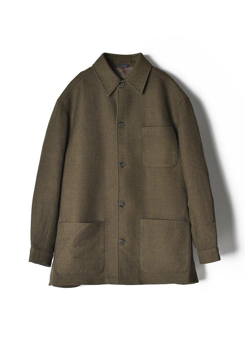 USED Herringbone Light Jacket