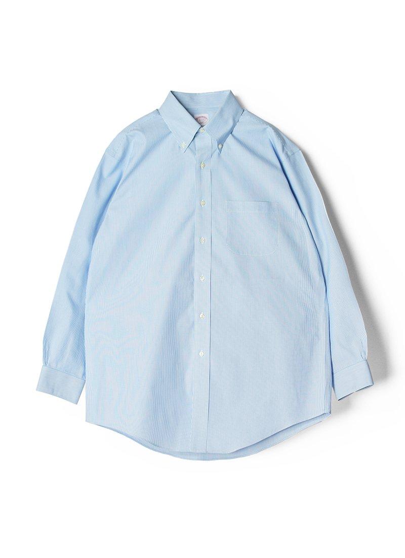 USED BROOKS BROTHERS Stripe B.D.Shirt