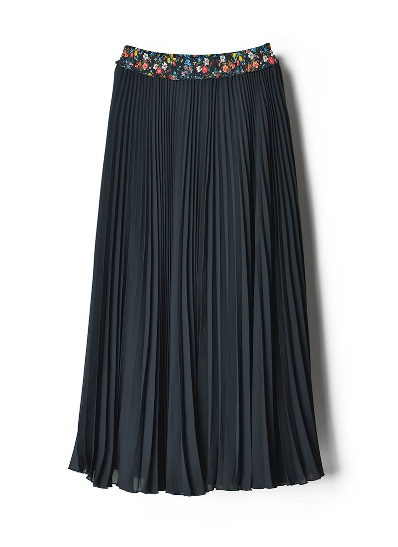 MEYAME Pleated Skirt