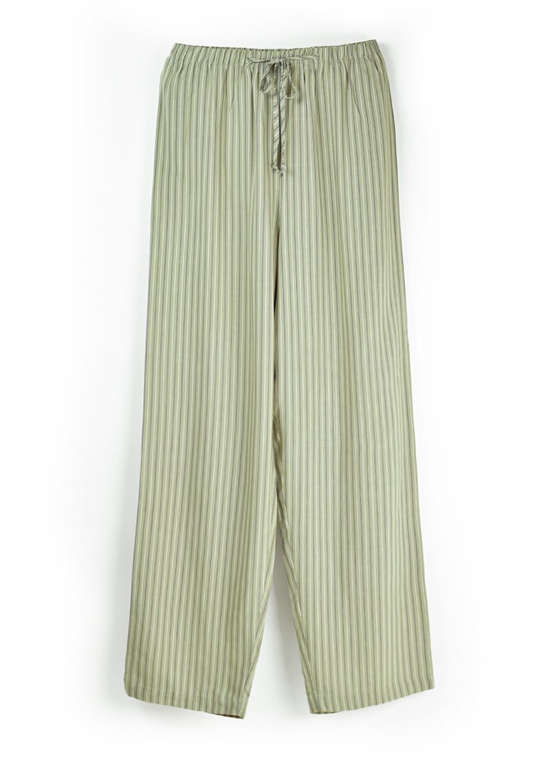 USED Striped Easy Pants