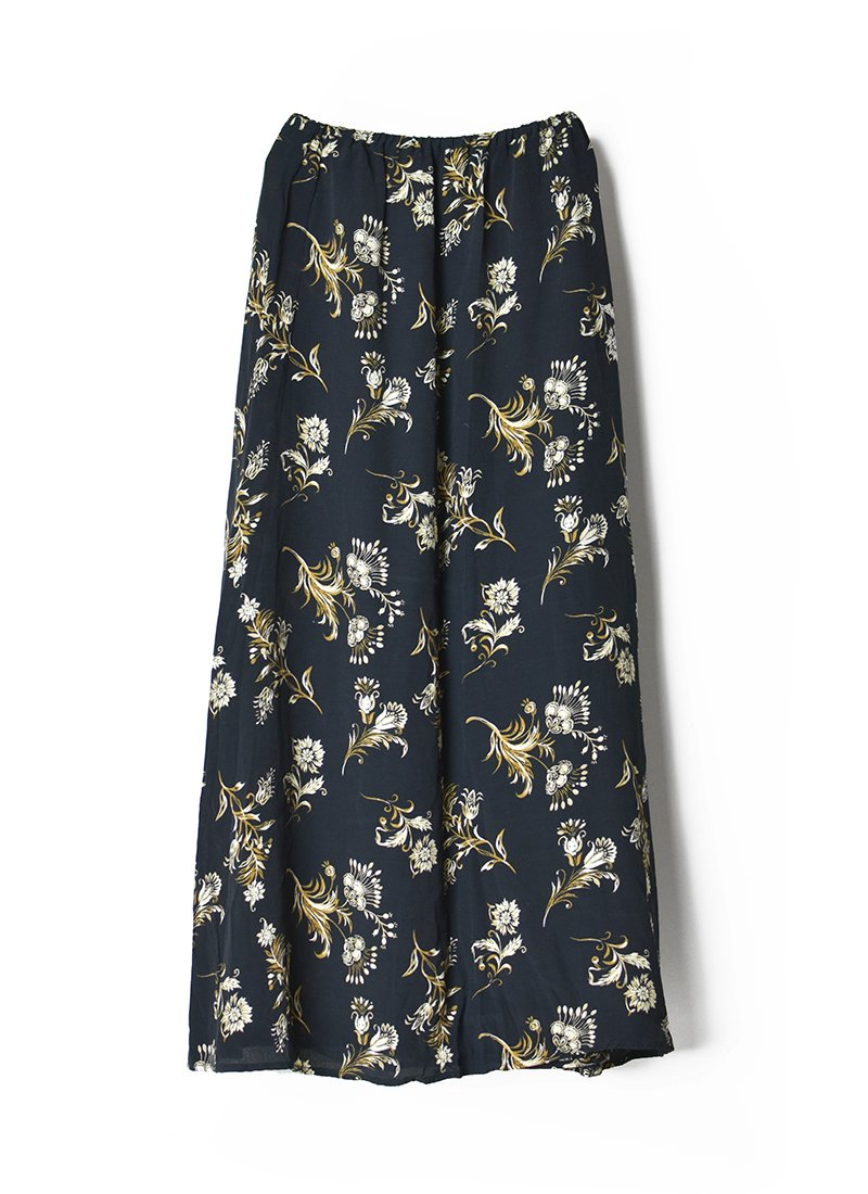 USED Floral Print Skirt No.8