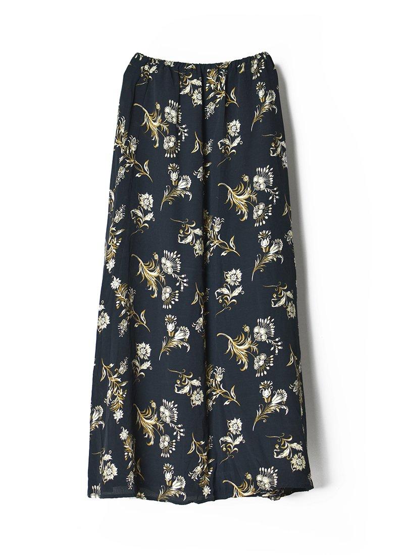 USED Floral Print Skirt