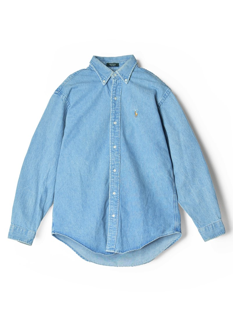 USED RALPH LAUREN Denim B.D.Shirt