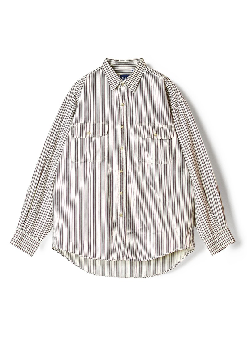 USED GAP Stripe Shirt