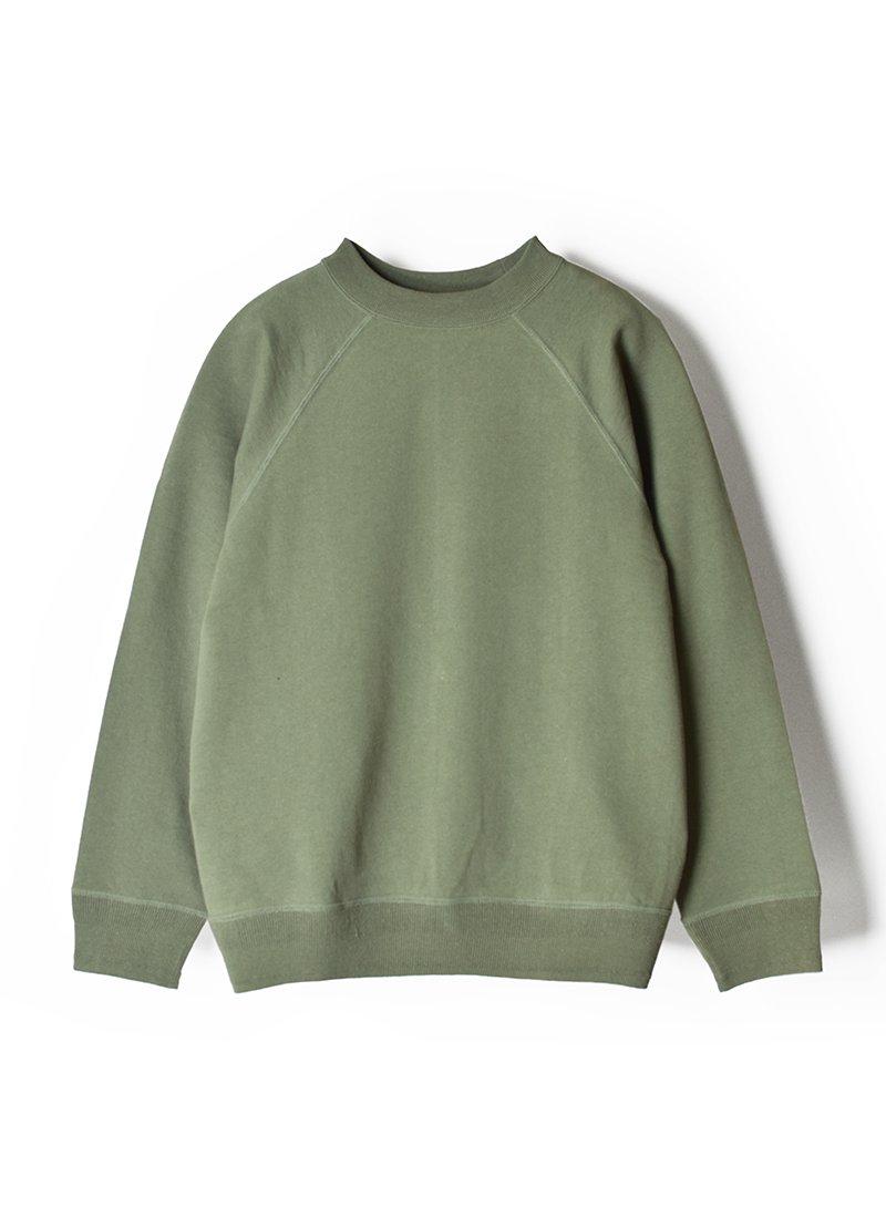 ARCHI Cotton Linen Fleece Raglan Sweat