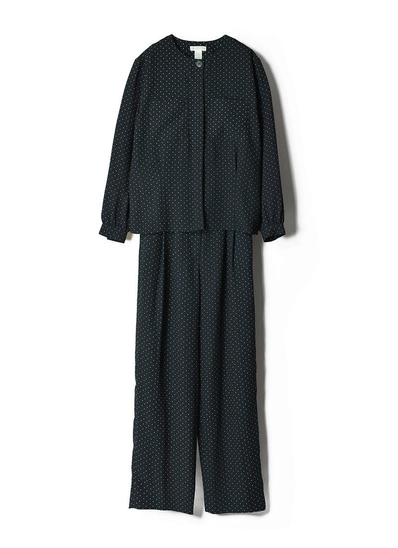 USED Dot Shirt & Pants Set Up