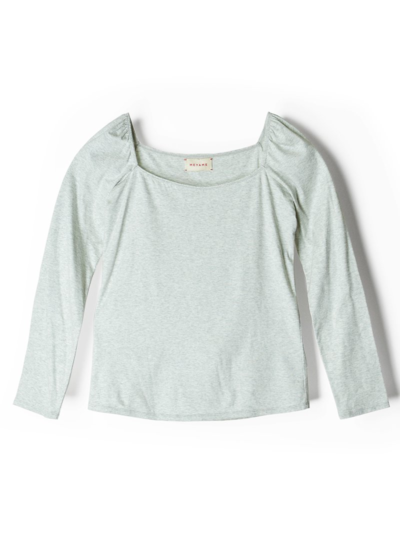 MEYAME Square Neck Blouse