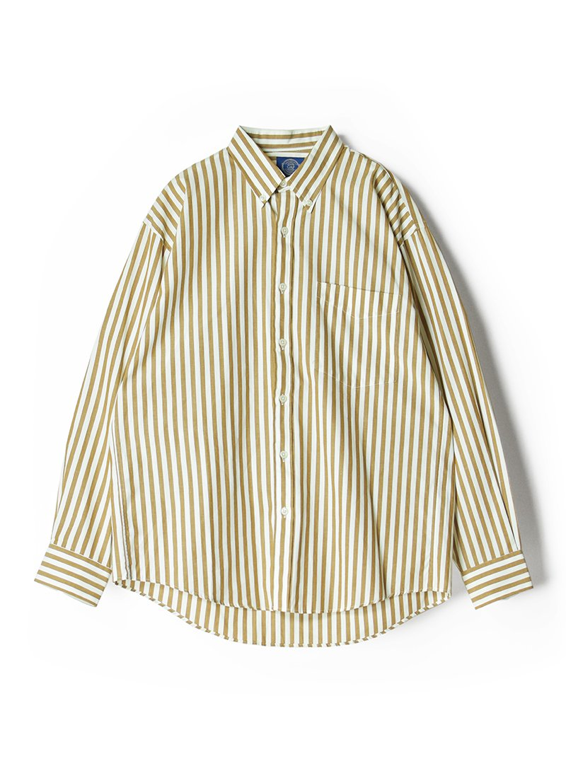 USED GAP Stripe B.D.Shirt