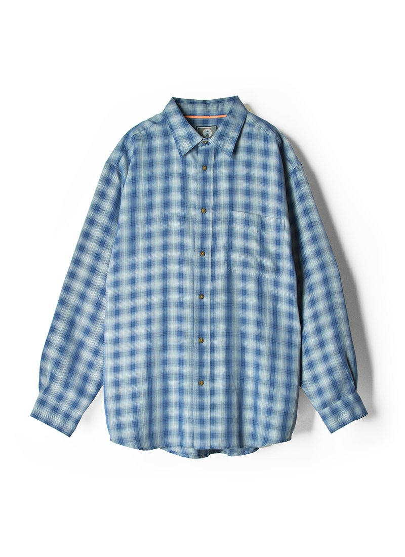 USED Weatherproof Ombre Check Shirt