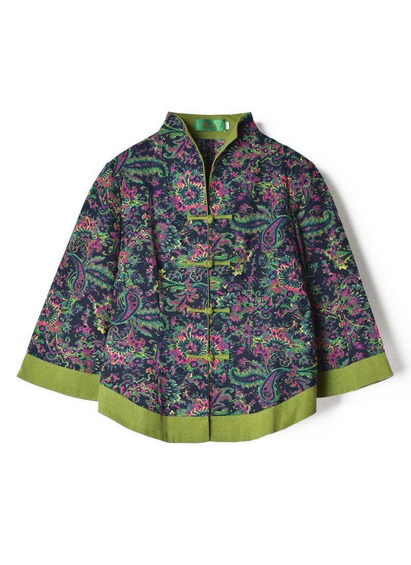 USED Paisley China Jacket