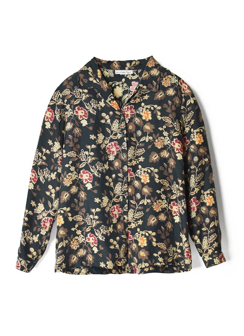 USED Flower Print Blouse