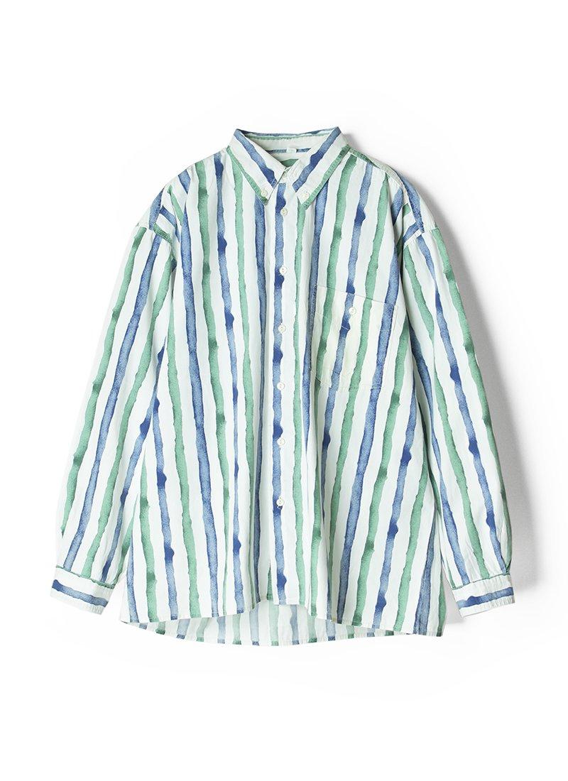 USED Euro Printed Design Shirt No.3