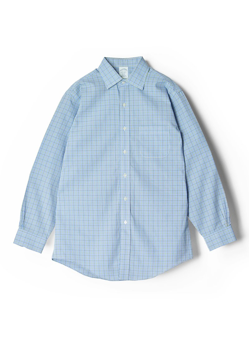 USED BROOKS BROTHERS Gingham Check Shirt