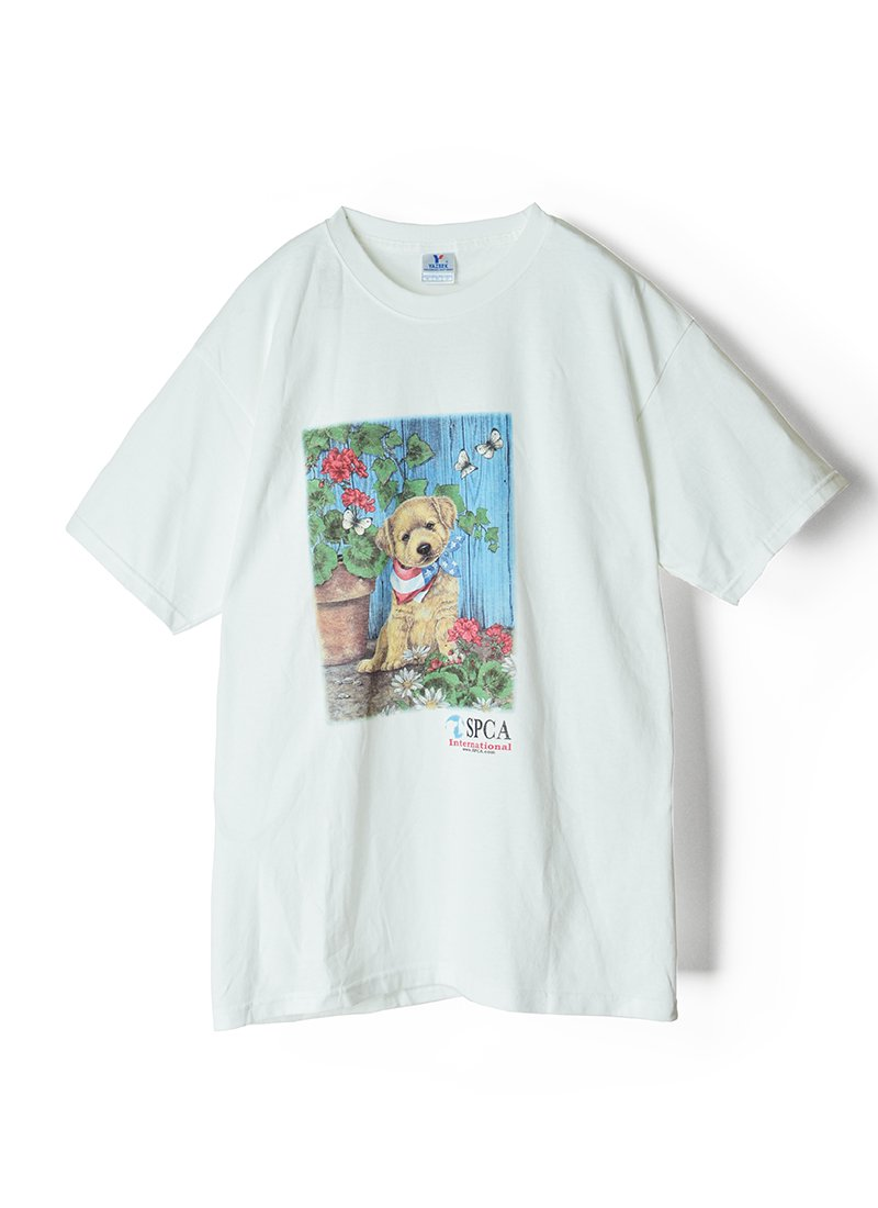 USED Dog Print Tee No.3