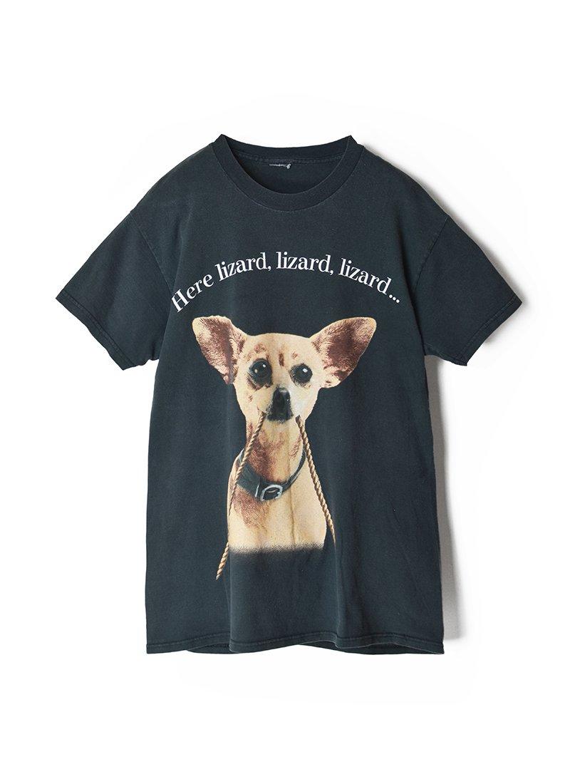 USED Dog Print Tee No.4