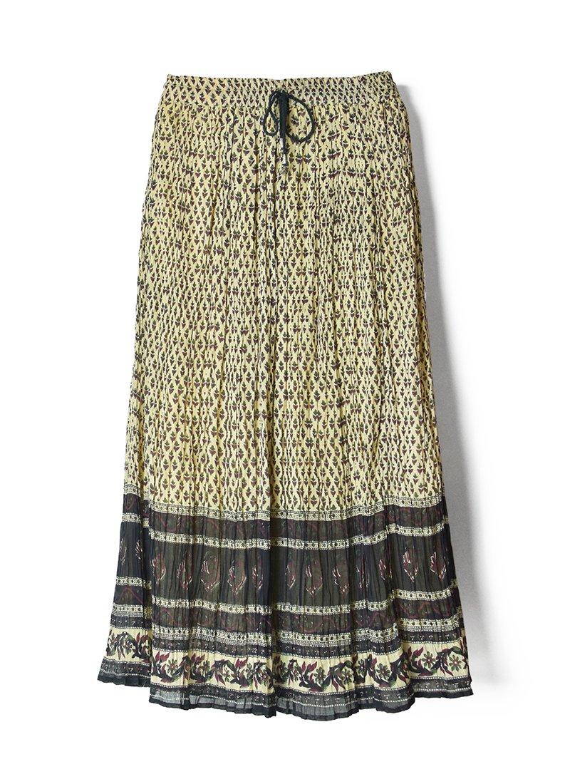 USED Bohemian Long Skirt No.1