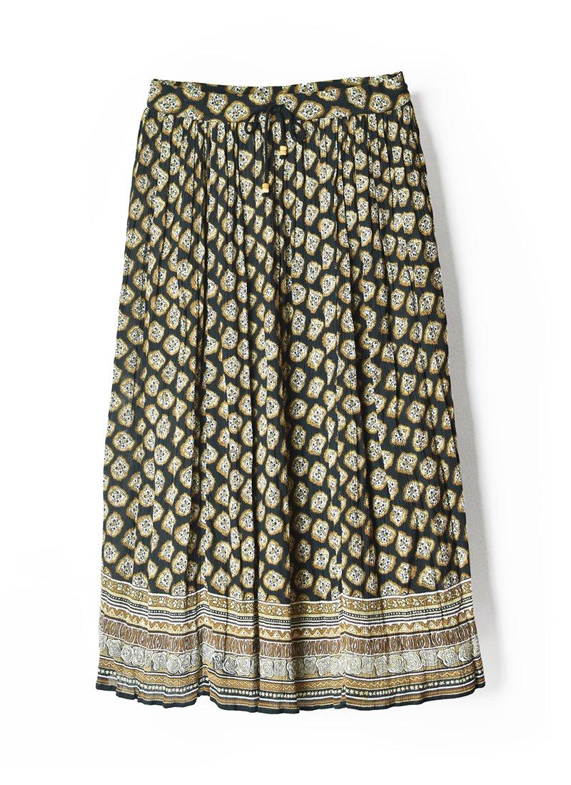 USED Bohemian Long Skirt No.2