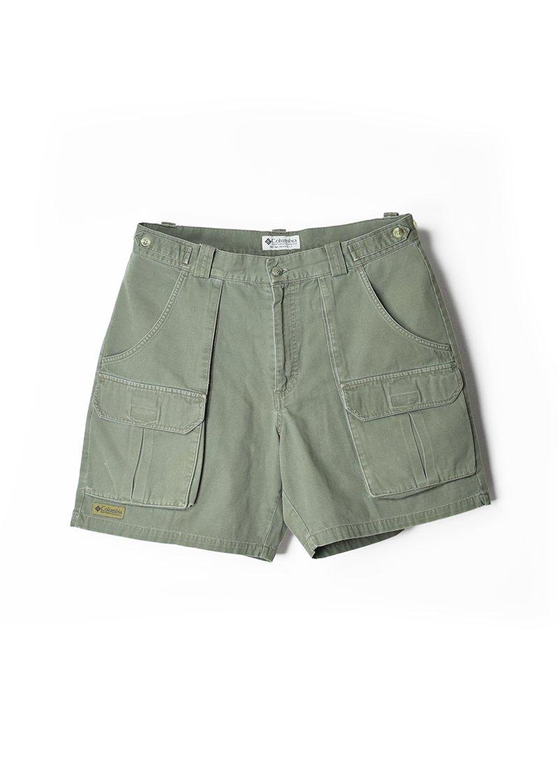 USED Columbia Cotton Safari Shorts