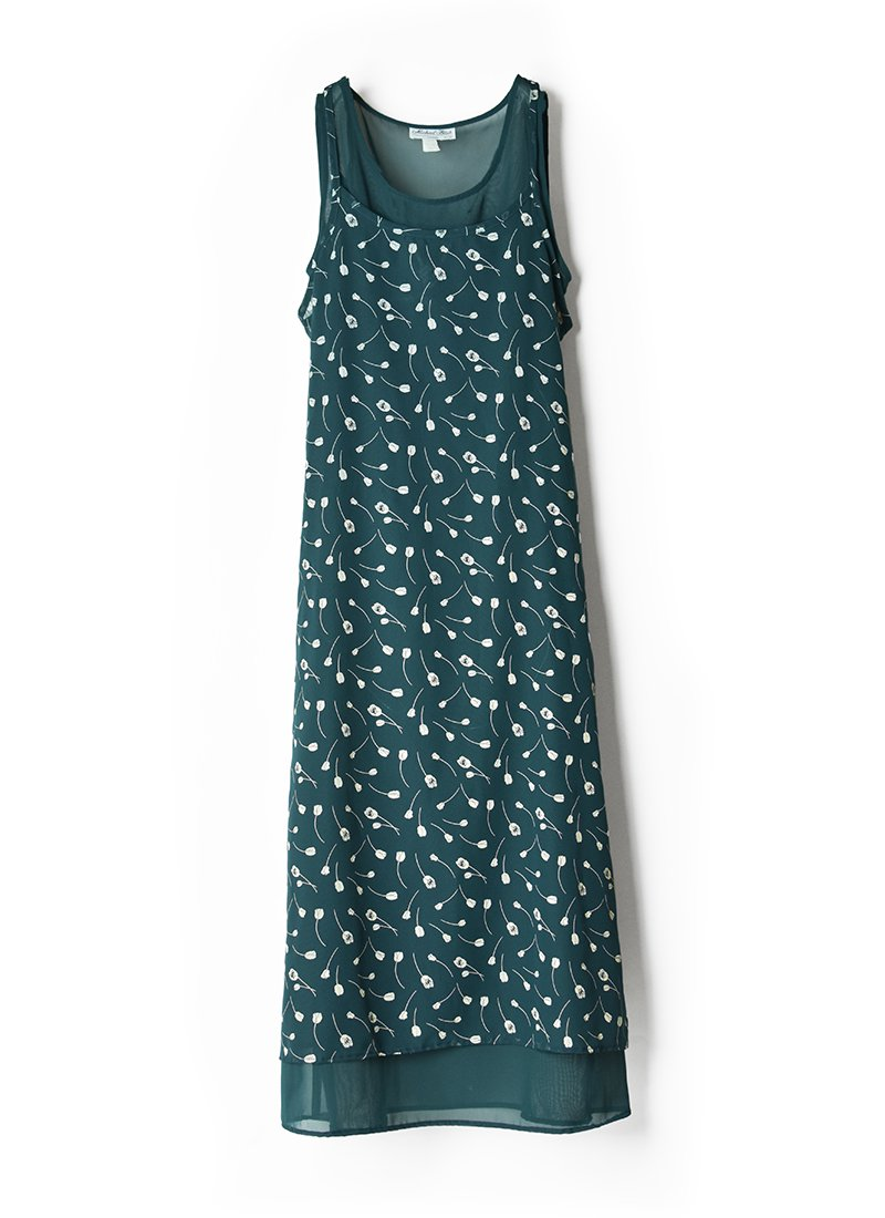 USED Floral Print Dress No.4