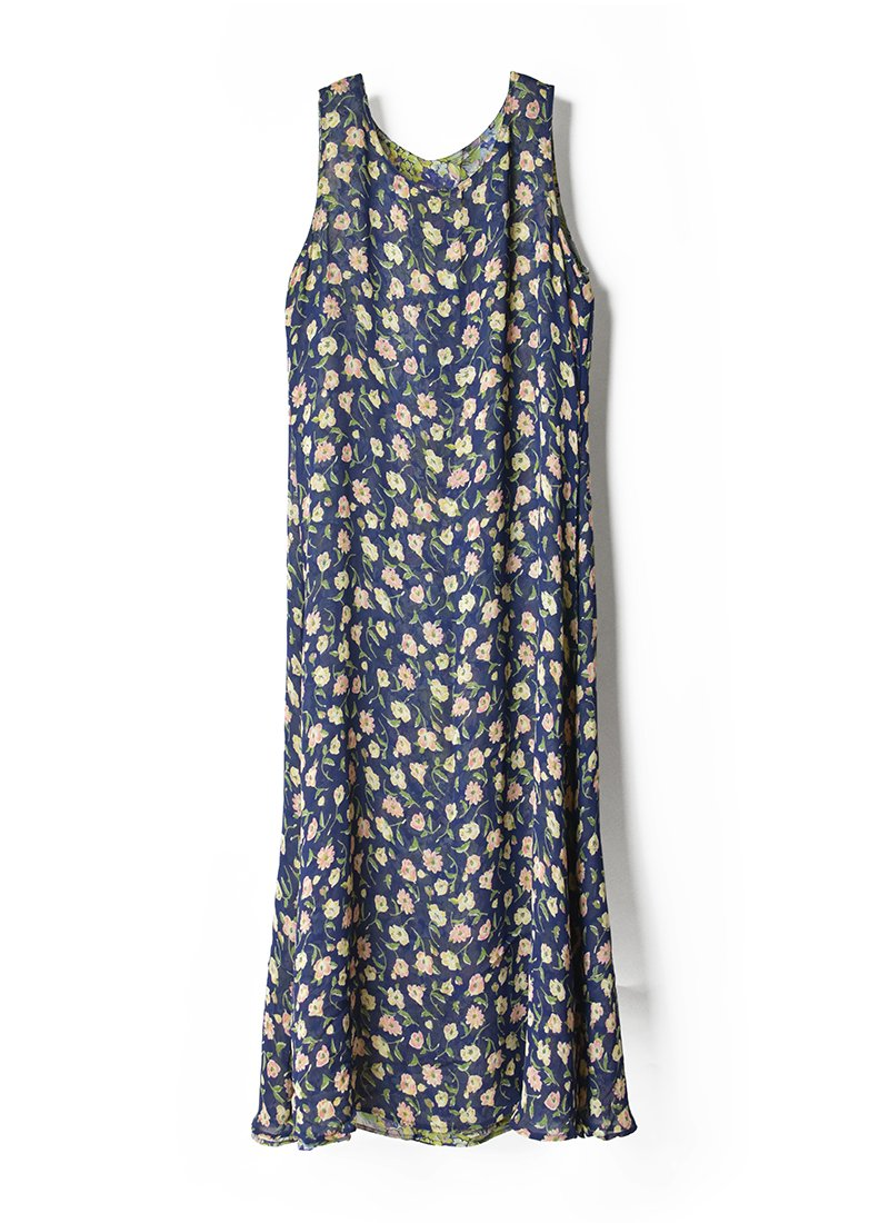 USED Reversible Floral Print Dress No.5