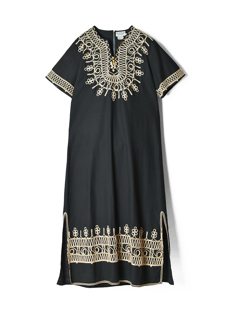 USED Ethnic Design Long Dress