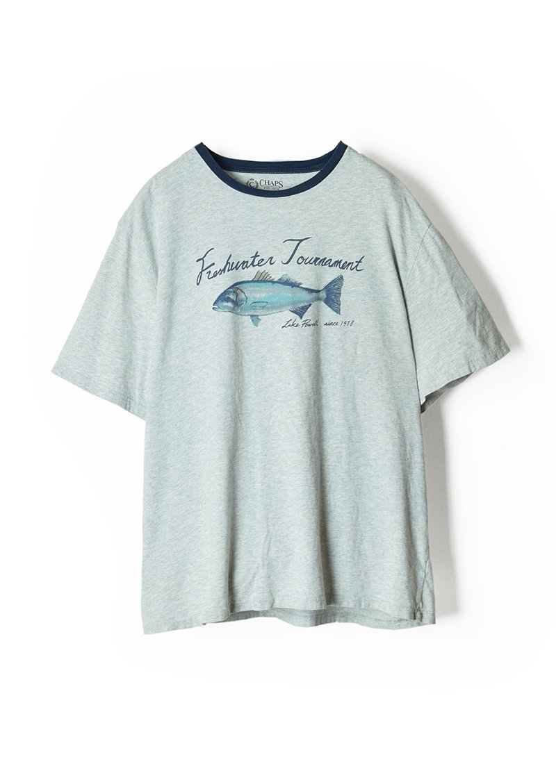 USED CHAPS Fish Hunter Tee