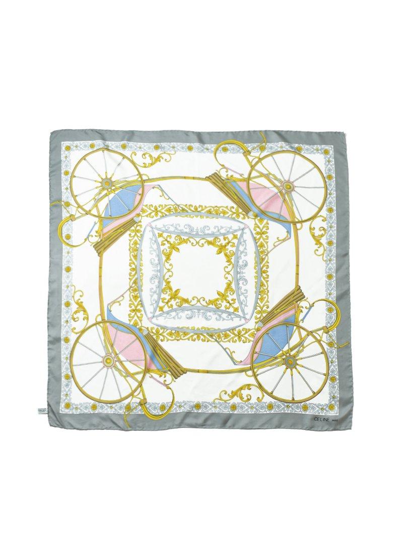 Vintage CELINE Silk Scarf