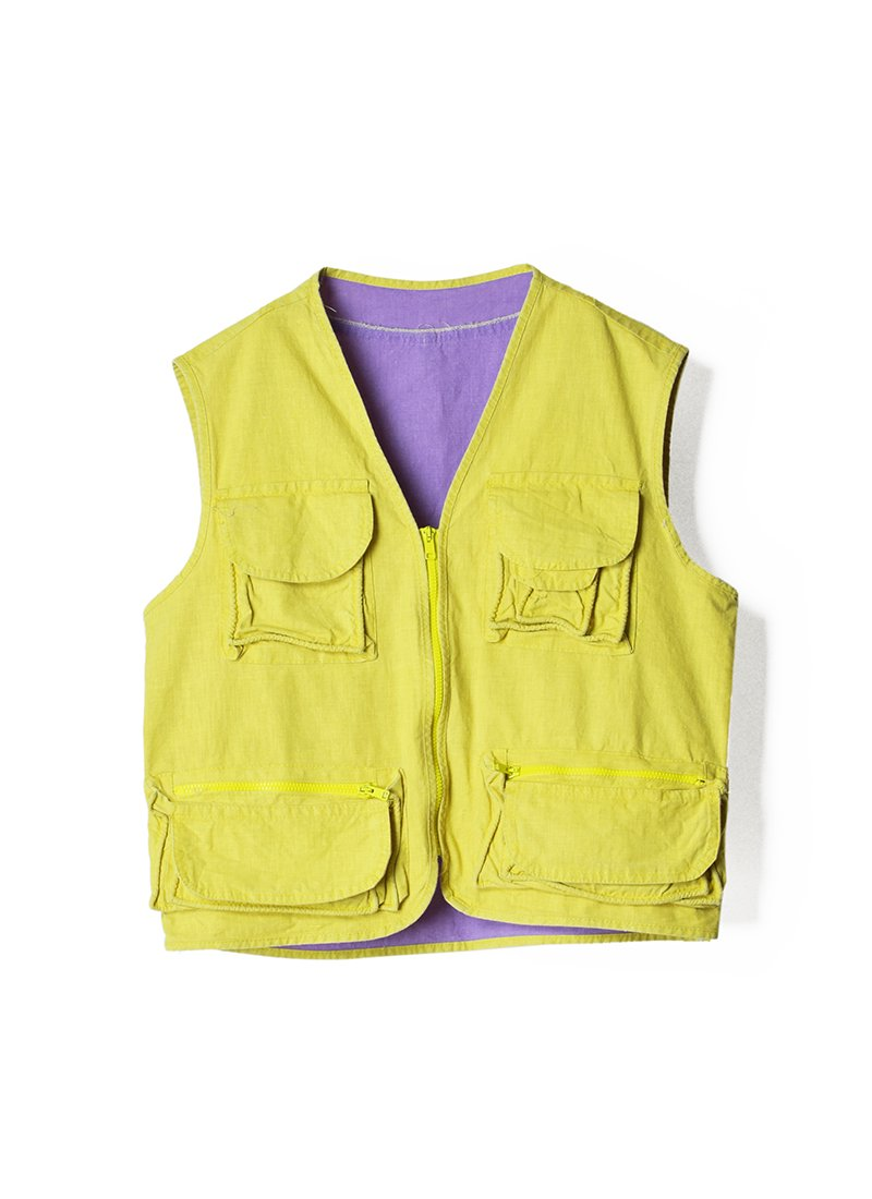 USED Cotton Work Vest No.2